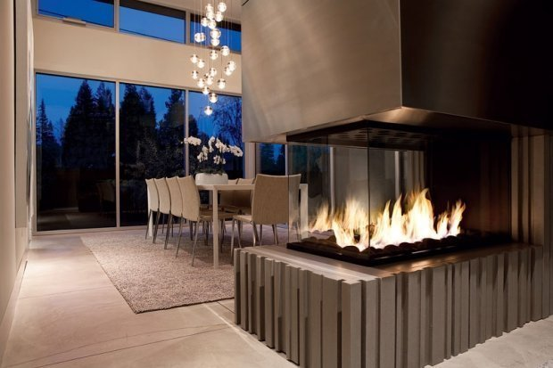 Glass Fireplace Atlanta